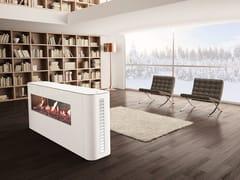 - Gas free standing fireplace MILANO | Freestanding fireplace - ITALKERO