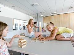 - Acoustic glass wool ceiling tiles Ecophon Master™ Rigid Dp - Saint-Gobain ECOPHON