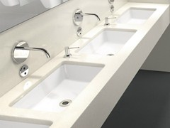 - Undermount ceramic washbasin ARCHITECTURA | Undermount washbasin - Villeroy & Boch
