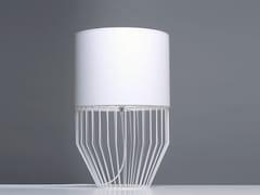 - PVC table lamp RAIO T - Branca-Lisboa