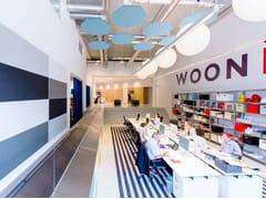 - Glass wool acoustic ceiling clouds Ecophon Solo™ Heptagon - Saint-Gobain ECOPHON