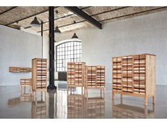 - Cassettiera ufficio in legno SIXtematic HIGH CHEST - sixay furniture