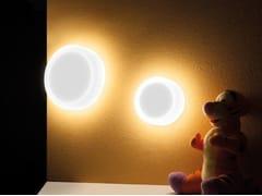 - PMMA wall light CUBO TONDA 300 - Lombardo
