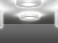 - LED PMMA ceiling lamp CLAMP 120 SMALL | Ceiling lamp - Lombardo