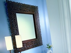 - Freestanding square framed mirror ARIA | Square mirror - CIACCI
