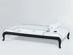 - Upholstered fabric garden daybed CANOPO | Garden daybed - Samuele Mazza Outdoor Collection by DFN