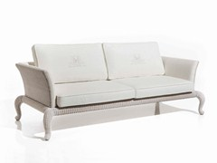 - Fabric garden sofa ANTARES | 3 seater sofa - Samuele Mazza Outdoor Collection by DFN