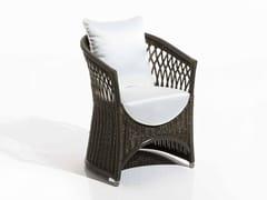- Upholstered fabric garden armchair VEGA | Garden armchair - Samuele Mazza Outdoor Collection by DFN