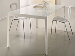 - Rectangular crystal table EDO | Rectangular table - CIACCI