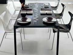 - Rectangular crystal table PRADO | Rectangular table - CIACCI