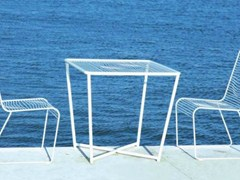 - Square high table GRID | Square garden table - CIACCI