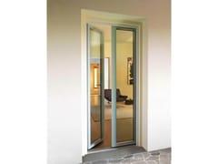 Porta-finestra a battente in legno e vetro con triplo vetroVITRUM DOUBLE | Porta-finestra a battente - CARMINATI SERRAMENTI