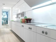 - Oak fitted kitchen B3 | Linear kitchen - Bulthaup