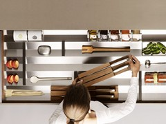 - Stainless steel drawers divider B3 INTERIOR SYSTEM | Stainless steel drawers divider - Bulthaup