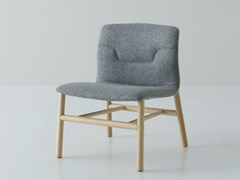 - Upholstered fabric easy chair SLOT | Easy chair - GABER