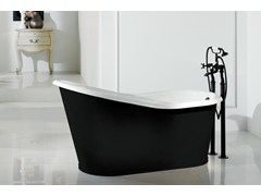 - Cast iron bathtub OLD LAVANDE - BLEU PROVENCE