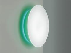 - Opal glass wall/ceiling lamp CONCA W1 - Rotaliana