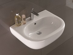 Washbasin NICOLE | Wall-mounted washbasin - Olympia Ceramica