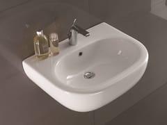 - Washbasin NICOLE | Wall-mounted washbasin - Olympia Ceramica