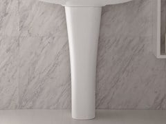 Bathroom sink pedestal CLEAR | Bathroom sink pedestal - Olympia Ceramica