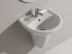 Wall-mounted washbasin FEDERICA | Wall-mounted washbasin - Olympia Ceramica