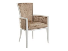 - Upholstered chair with armrests LUNA | Chair with armrests - SELVA