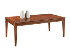 - Extending rectangular wooden table SOPHIA | Dining table - SELVA
