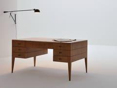 - Cherry wood writing desk with drawers FLAMINIA   Writing desk - Morelato