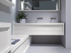 - Double lacquered ash vanity unit IMPOUND   Double vanity unit - GD Arredamenti