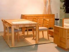 - Extending rectangular wooden table '900 SCACCHI - Morelato