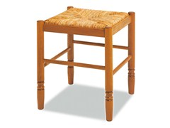 - Low beech stool JEANNE 420 E - Palma