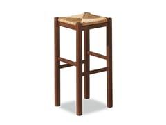 - High beech stool RUSTICA 425 X - Palma