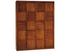 - Wooden wardrobe SCACCHI | Wooden wardrobe - Morelato