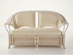 - 2 seater rattan sofa ISABELLA | 2 seater sofa - Dolcefarniente by DFN