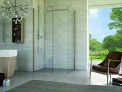 - Corner rectangular glass shower cabin MATERIA SA2 - MEGIUS