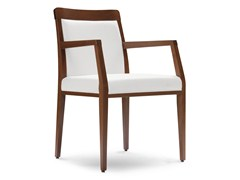 - Upholstered chair with armrests OPERA BOHEME 49 EP - Palma