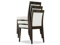 - Upholstered stackable beech chair OPERA BOHEME 49 EF - Palma