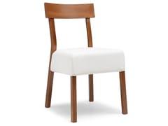 - Upholstered beech chair ITALIA 439 E - Palma