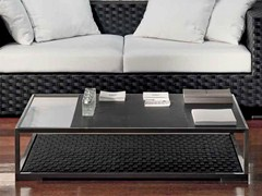 - Low slate coffee table for living room DOMUS | Low coffee table - Dolcefarniente by DFN