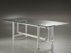 - Rectangular crystal table GALASSIA | Table - Dolcefarniente by DFN