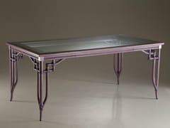 - Rectangular crystal table DORIAN | Table - Dolcefarniente by DFN