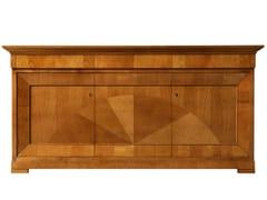 - Cherry wood sideboard with doors BIEDERMEIER | Sideboard - Morelato