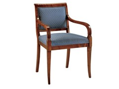 - Upholstered chair with armrests VIENNA | Chair with armrests - Morelato