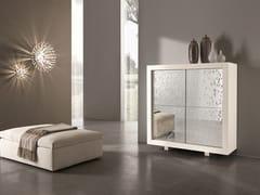 - Wooden highboard with doors PICASSO | Goccia Door - RIFLESSI