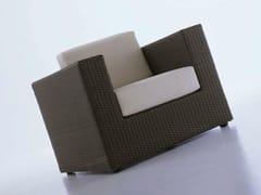 - Resin garden armchair with armrests BAHIA   Garden armchair - Dolcefarniente by DFN