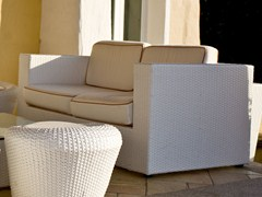 - 2 seater resin garden sofa BAHIA | 2 seater sofa - Dolcefarniente by DFN