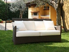 - 3 seater resin garden sofa SCAURI | 3 seater sofa - Dolcefarniente by DFN