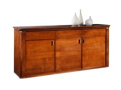 - Wooden sideboard with drawers with doors MARILYN | Wooden sideboard - SELVA