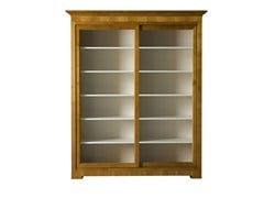 - Wood and glass bookcase / display cabinet BIEDERMEIER | Wood and glass display cabinet - Morelato