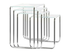 - Stackable glass coffee table B9 | Glass coffee table - THONET